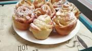 """Как приготовить булочки с яблоками """"Розы"""""""