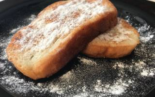Простой десерт из хлеба за 10 минут