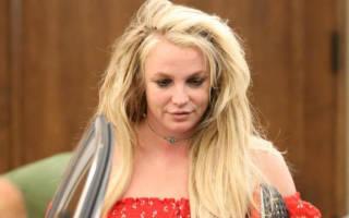 Очередной нервный срыв Бритни Спирс