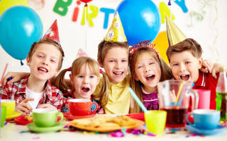 Канапе для детей на день рождения