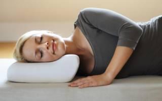 Как выбрать и купить ортопедическую подушку для шеи