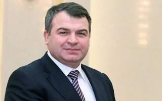 Анатолий Эдуардович Сердюков – выходец из крестьянской семьи, ставший министром обороны РФ