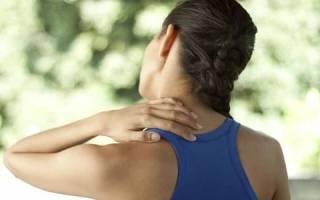 Лечебная физкультура при нестабильности шейного отдела позвоночника