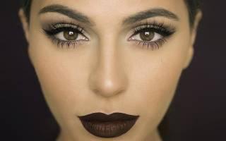 Цвета макияжа для карих глаз