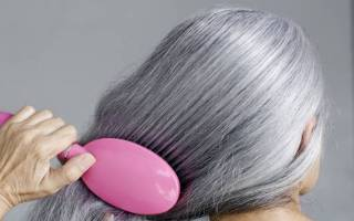 Как избавиться от седых волос в домашних условиях