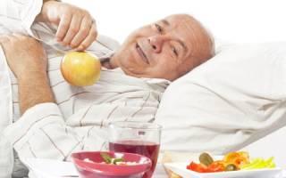 Примерное меню правильного питания при раке поджелудочной железы