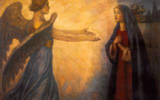 Суть и значение праздника Благовещенье