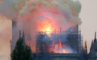 Ксения Собчак назвала виновных в пожаре собора Нотр-Дам-де-Пари