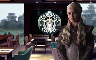"""В восьмом сезоне """"Игры престолов"""" пьют кофе Starbucks?"""