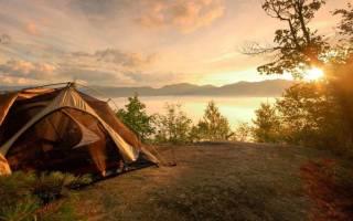 Особенности палаточного отдыха в лесной местности