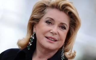 Катрин Денев – символ французского кино