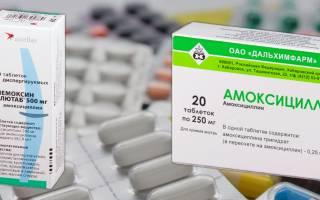 Амоксициллин или Флемоксин солютаб: что лучше