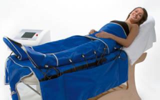 Противопоказания для проведения прессотерапии