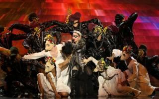 Мадонна таки выступила на Евровидение в Тель-Авиве