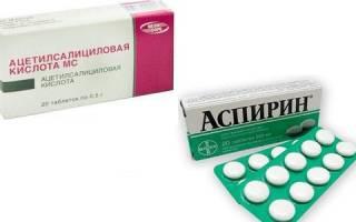 Что выбрать: Аспирин или Ацетилсалициловую кислоту?