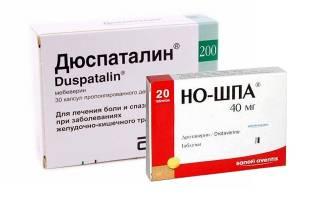 Дюспаталин или Но-шпа: что лучше
