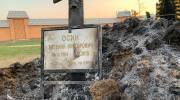 Кого обвиняют в поджоге могилы Осина?