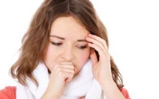 Кашель при возникшем гриппе