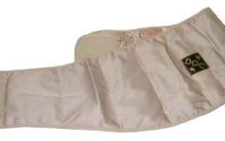 Эффективный пояс для спины при грыже – какой он?