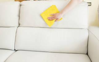 Народные способы чистки мягкой текстильной мебели