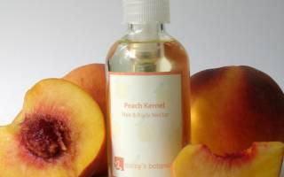 Чем полезно персиковое масло