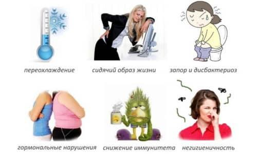 На обострение хронического цистита влияет множество факторов