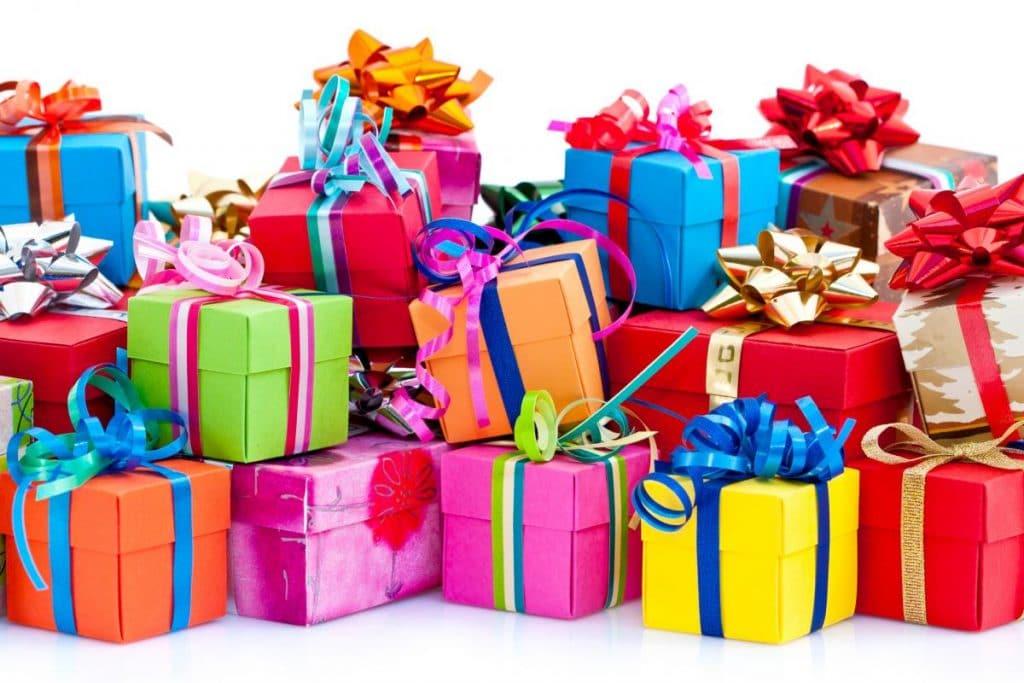 Большие подарки на день рождения картинки