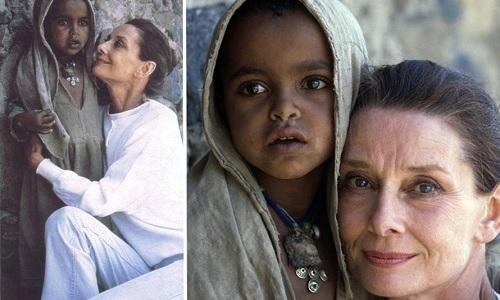 Оставив съемки в кино, Одри Хепберн стала помогать детям, оказавшимся в чрезвычайной ситуации