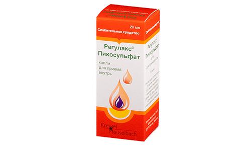 Эффективно устраняет запор жидкое слабительное без вкуса и запаха Регулакс