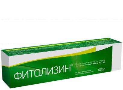 Фитолизин при цистите – отзывы и цена пасты, инструкция по применению