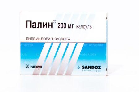 Применение препарата Палин при цистите