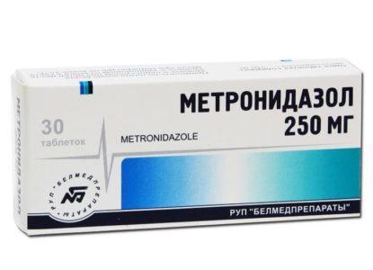 Метронидазол при цистите у женщин: дозировка, схема приема