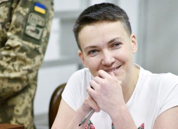 Надежда Савченко: из горячей точки в кандидаты в президенты Украины