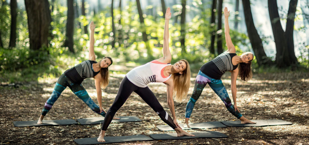 Для восстановления легких полезно заниматься аэробными упражнениями в хвойном лесу, на море