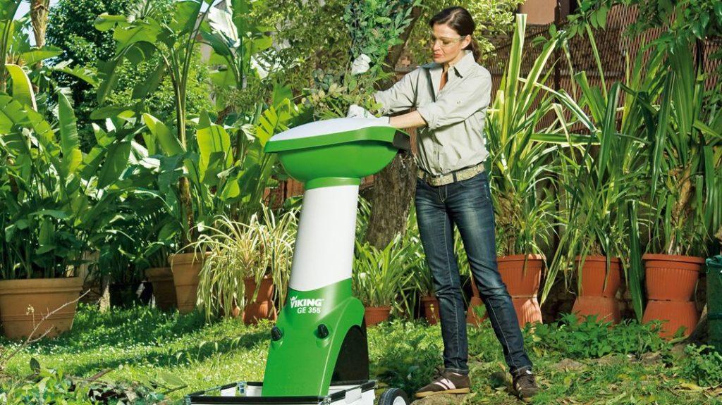 Измельчитель веток садовый электрический