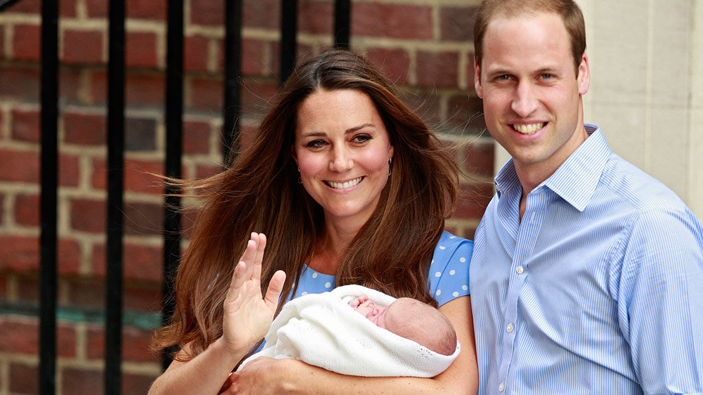 сына принца Уильяма и Кейт Мидлтон