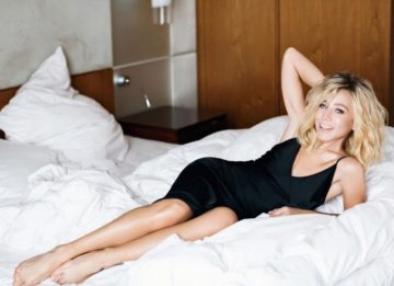 Юлия Барановская теперь блондинка