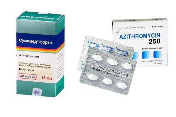 Азитромицин и суммамед