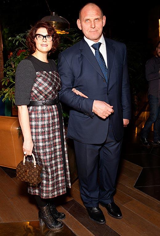 Александр Карелин с женой