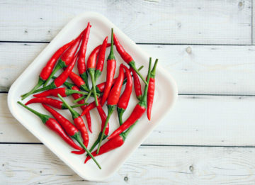 Как приготовить вегетарианский перец чили