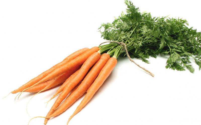 пучок морковки