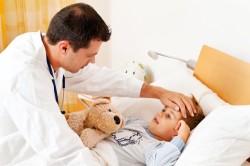 Общие симптомы гриппа у детей