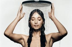 Контрастный душ при потливости головы