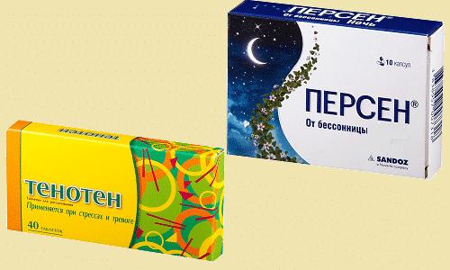 Чтобы успокоиться, устранить чувство тревоги и нормализовать сон, врачи рекомендуют принимать Персен или Тенотен