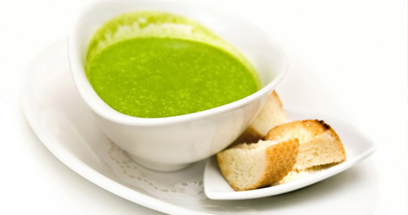 Сельдереевый суп!