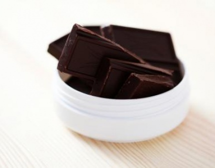 Шоколад в тарелке!