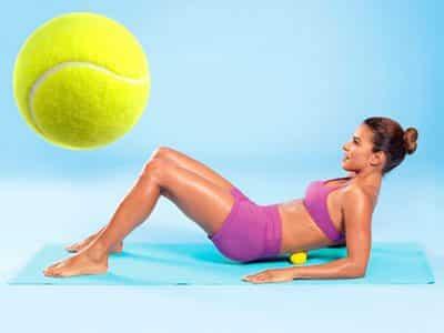 Массаж и растягивание мышц