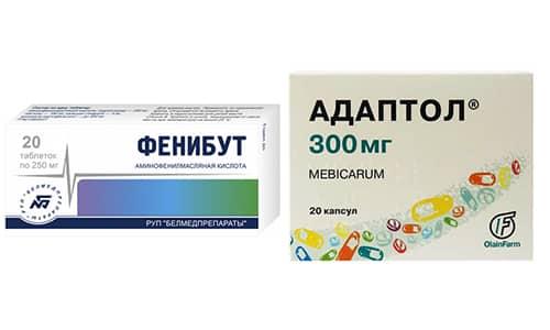 Адаптол и Фенибут - распространенные препараты, которые назначаются людям с тревогой и стрессом
