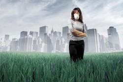 Загрязненный воздух - причина фарингита