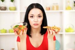 Появление коричневых выделений в результате неправильного питания